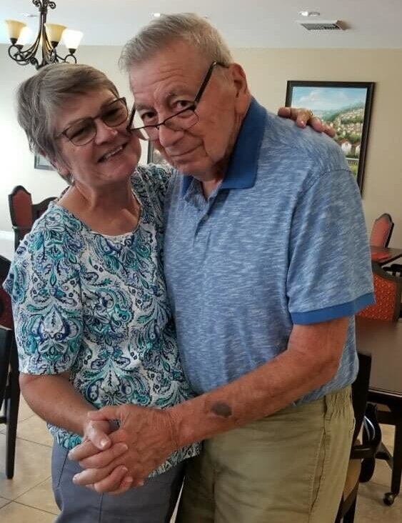 personal experience with dementia