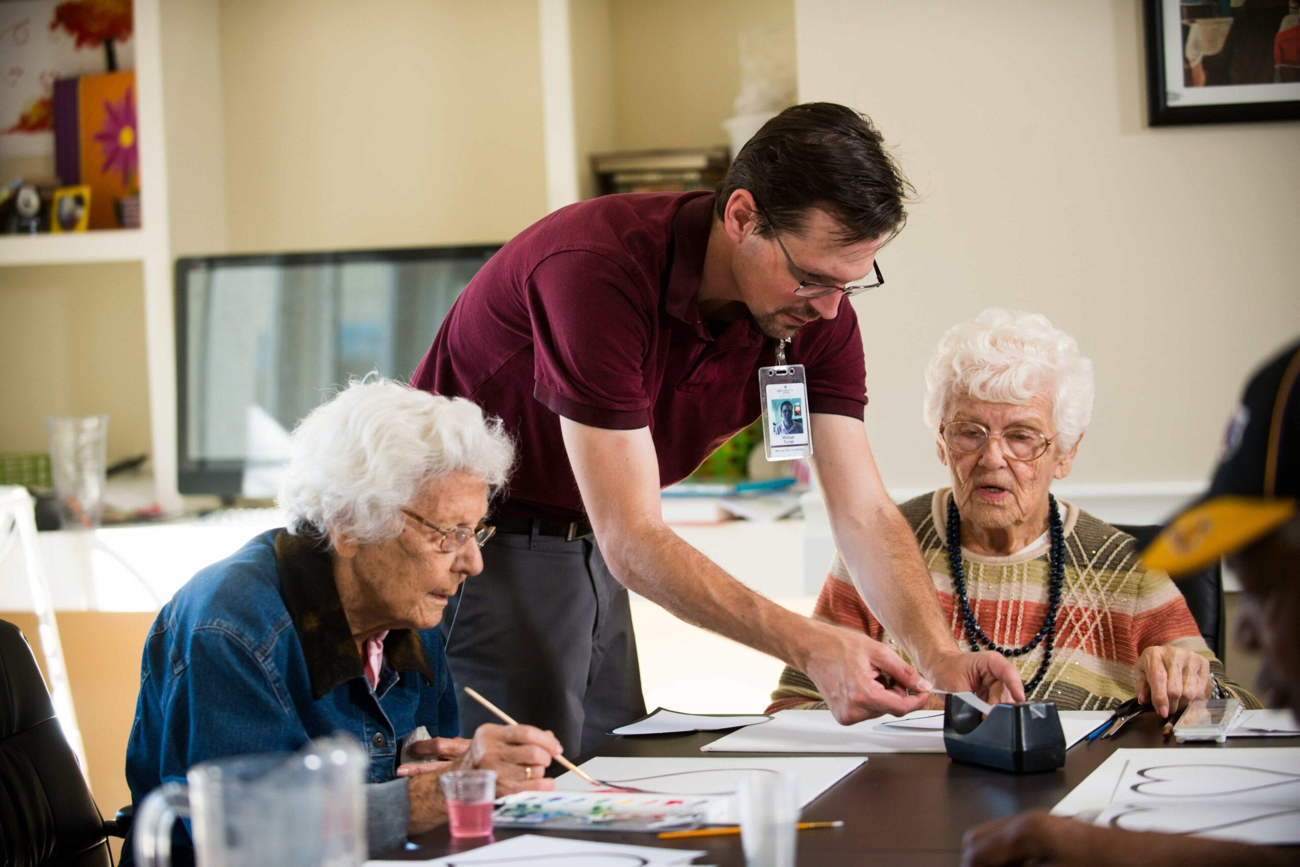 assisted living vs. nursing home